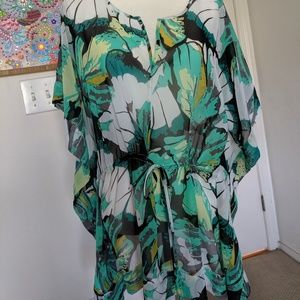 New York & Co. Floral Print Blouse